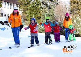 Kids Ski Lessons (4-12 years) - All Levels