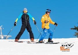 Skilessen voor volwassenen voor alle niveaus met K+K Ski School