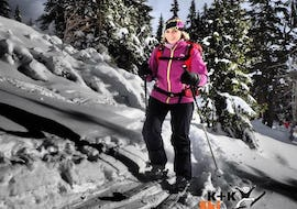 Private Ski Touring Guide for Adults - Beginners