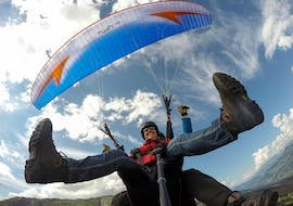 Tandem Paragliding in Davos-Klosters - Flight Day