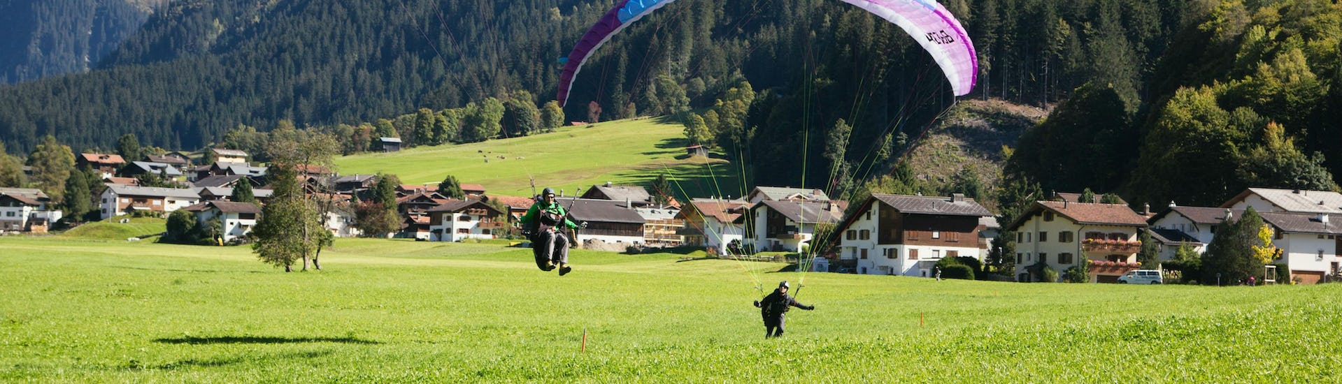 "Davos Tandem Paragliding ""Flight For 2"""