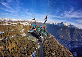 Tandem Paragliding in South Tyrol from Plan de Corones with Kronfly Tandem