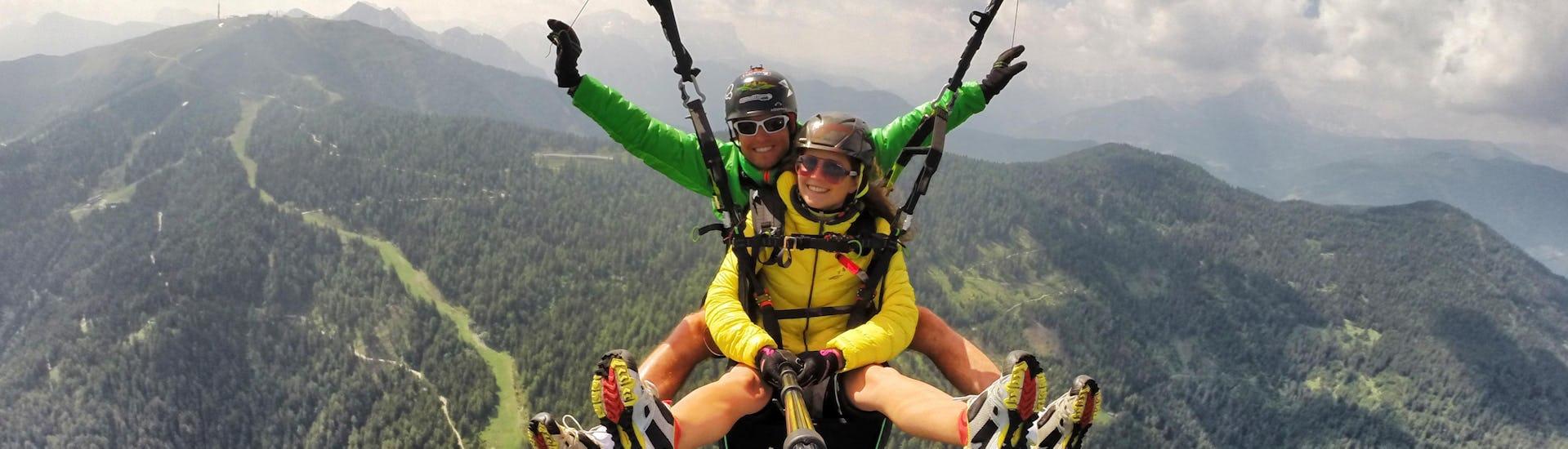 "Tandem Paragliding ""Kronfly"" - Monte Spico"