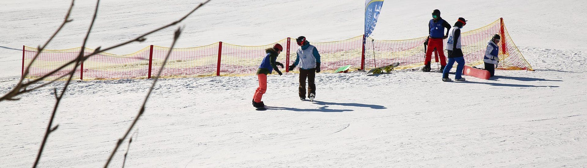Snowboard Lessons for Kids & Adults - First Timer - Full Day