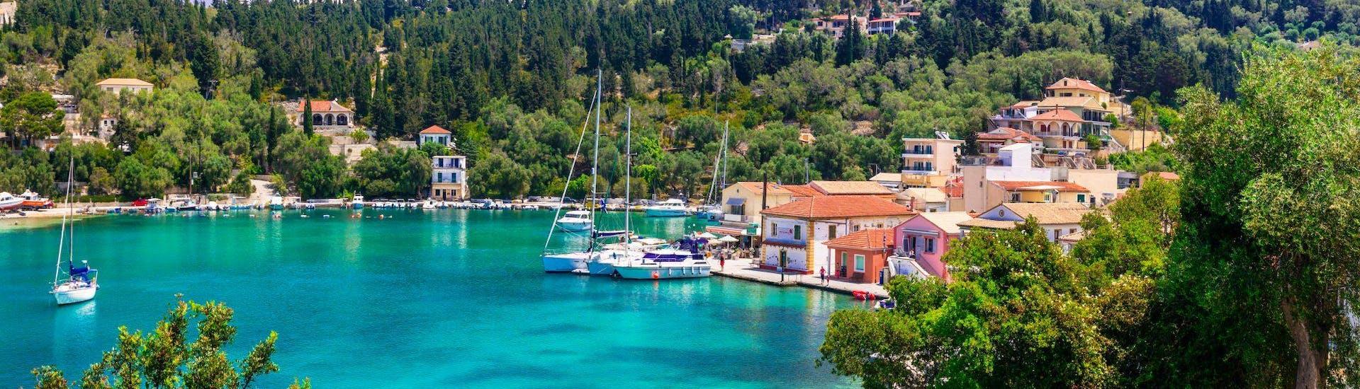 Boat Trip to Lakka-Paxos, Antipaxos & Caves from Lefkimmi with Corfu Cruises - Hero image