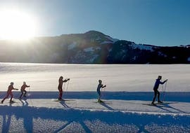 Clases de esquí de fondo privadas para todos los niveles
