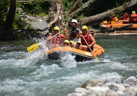 Rafting on the Lao River for Families with Rafting Adventure Lao