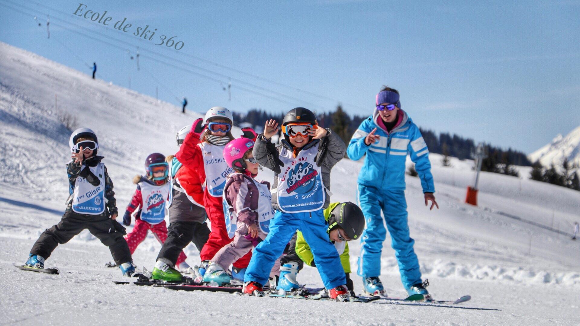 Cours de ski Enfants (4-13 ans) - Février - Après-midi