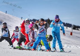 Kids Ski Lesson (4-13 y.) - Holiday - Afternoon