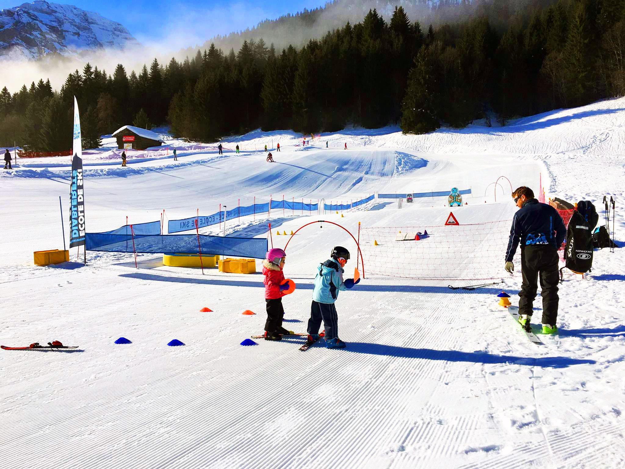 """Cours de ski pour Enfants """"Jardin des Neiges"""" (3-4 ans)"""