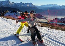 Privé skilessen voor kinderen vanaf 3 jaar voor alle niveaus met Leysin Ski