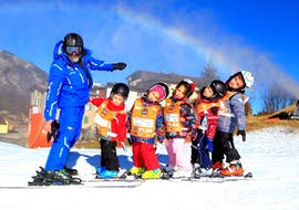 Clases de esquí para niños a partir de 4 años para debutantes con Scuola di Sci Andalo Dolomiti di Brenta