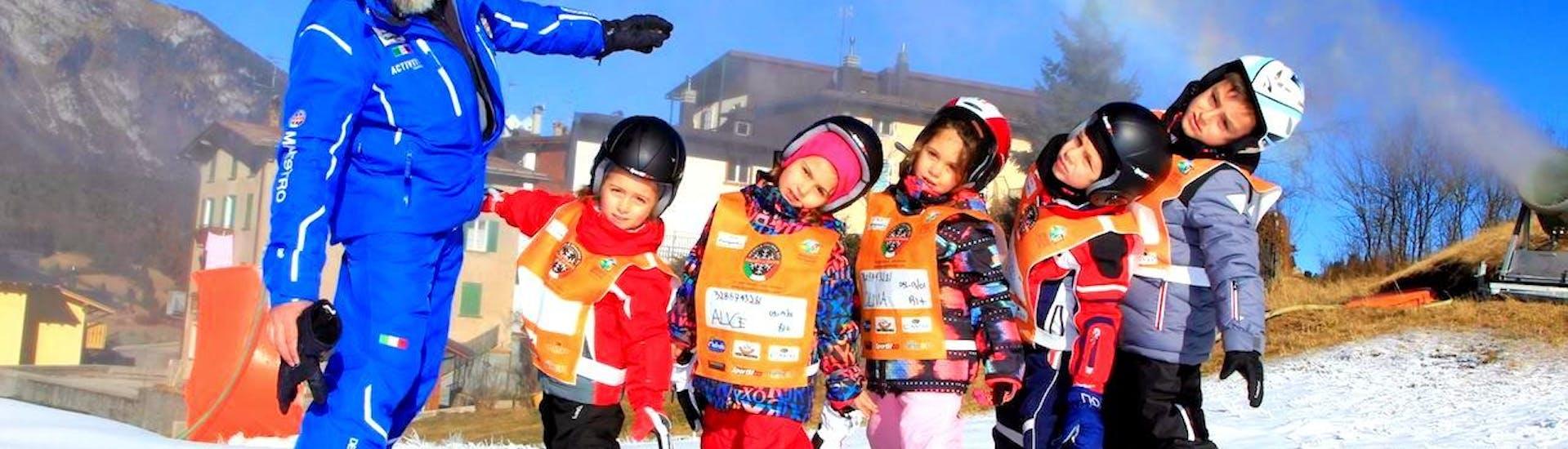 Cours de ski Enfants dès 4 ans - Premier cours avec Scuola di Sci Andalo Dolomiti di Brenta - Hero image