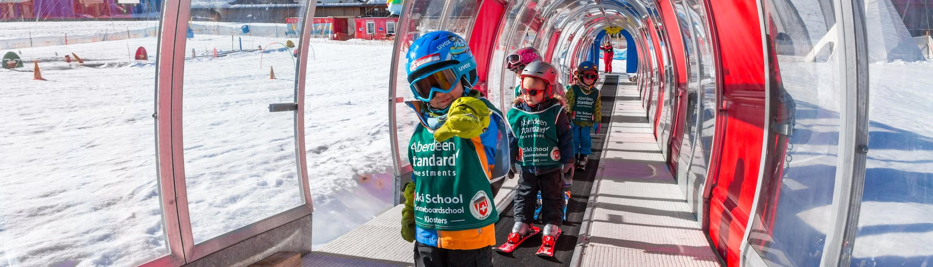 """Kids Ski Lessons """"Snowgarden"""" (up to 6 y.) for First Timers"""