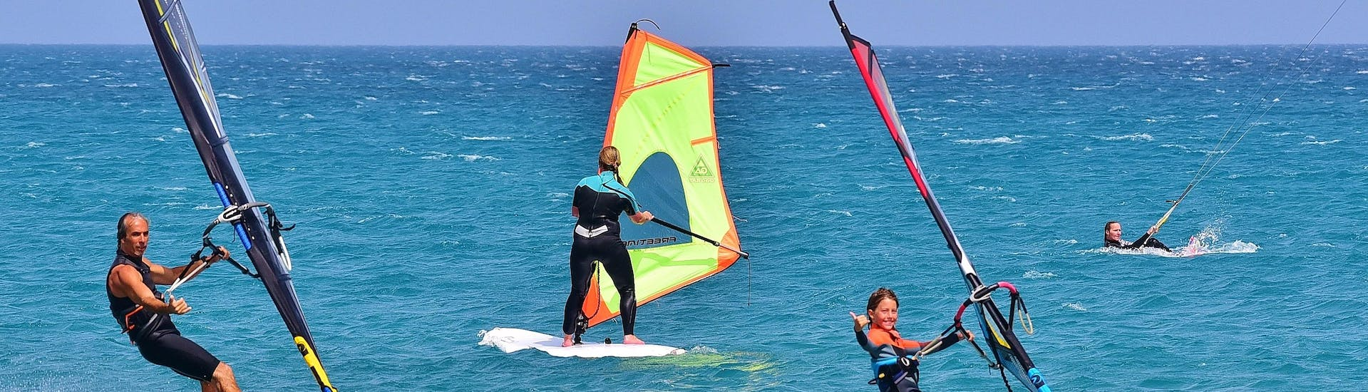 Windsurfing Lessons for Kids and Adults - Beginner