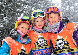Kids Ski Lessons (5-13 years) - February - Arc 2000