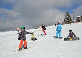 Snowboarding Lessons for Kids (from 9 y.) of All Levels