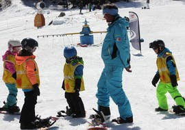 Snowboard Lessons (4-12 years) in Siviez - All Levels