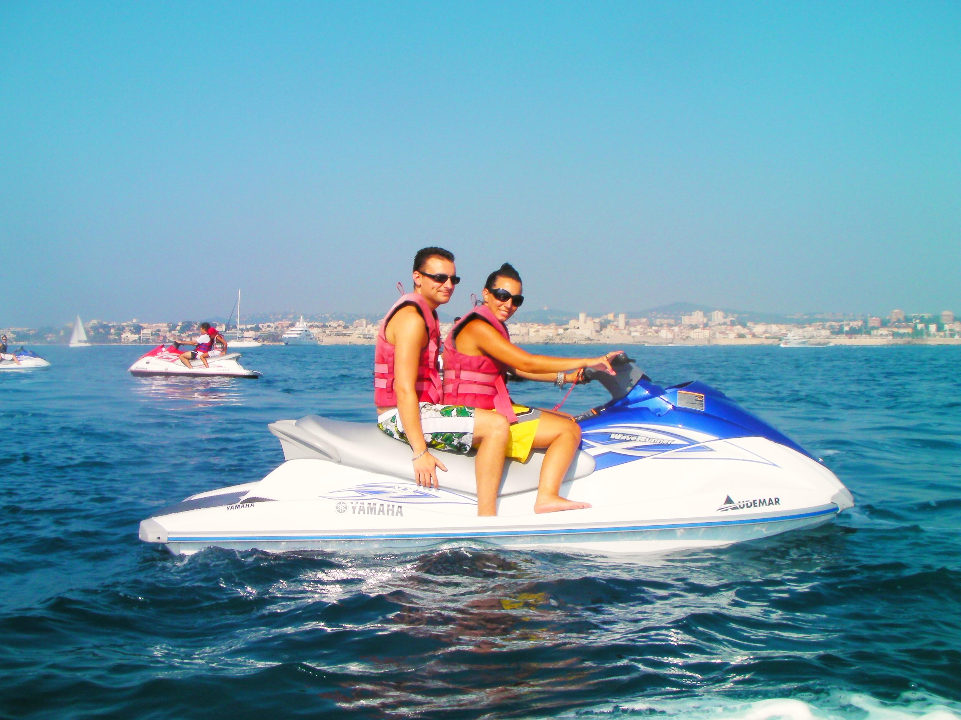 Introductory Jet Ski Session in the Baie des Anges in Nice