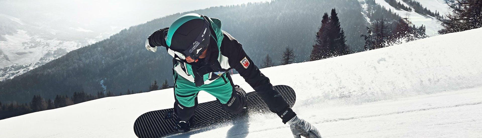 Cours particulier de snowboard pour Tous niveaux avec Scuola di Sci e Snowboard Dolomites Armentarola - Hero image