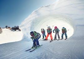 Cours de ski Enfants dès 4 ans pour Tous niveaux avec Scuola di Sci e Snowboard Dolomites Armentarola
