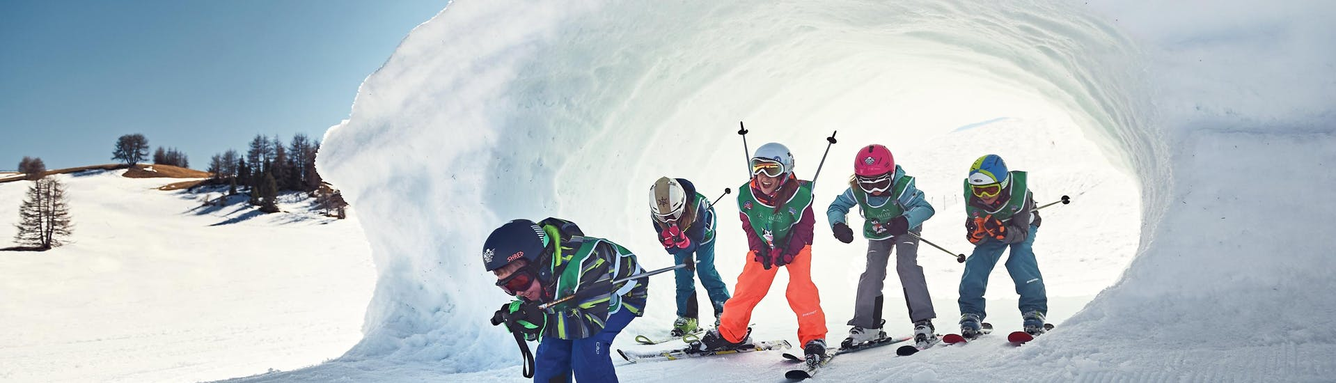 Lezioni di sci per bambini (4-12 anni) - Festività
