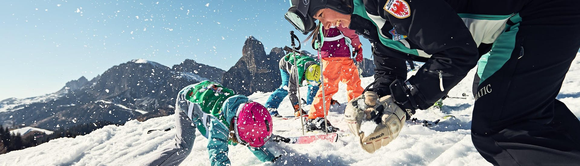 Kids Ski Lessons (4-12 y.) for All Levels - Holidays