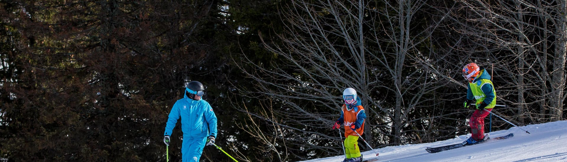 Private Ski Lessons for Kids - Christmas - Arc 1800