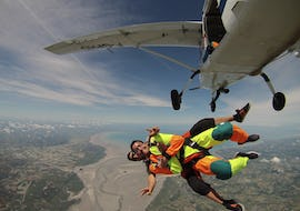 Tandem Skydive from 3000m - Mont Saint-Michel