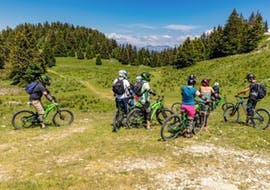Mountain Bike Tour Downhill in Semnoz
