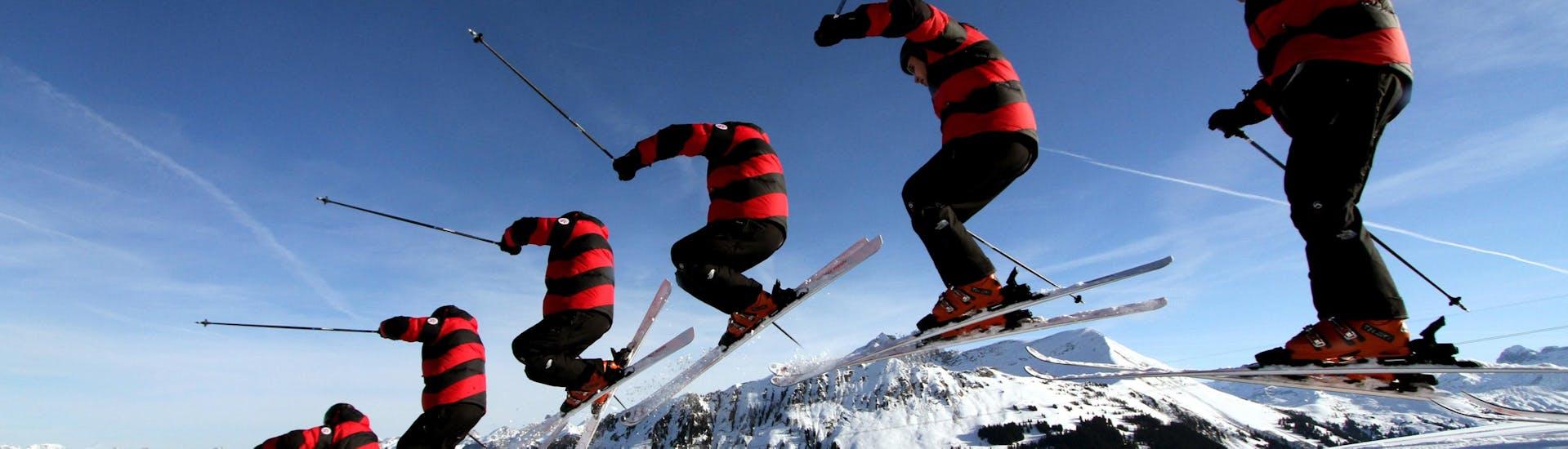 Lezioni private di sci per adulti a partire da 15 anni per tutti i livelli