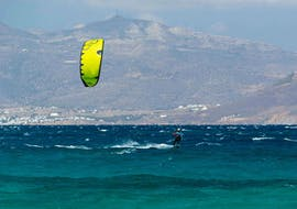 Privater Kitesurfkurs in Mikri Vigla (ab 14 J.) für alle Levels