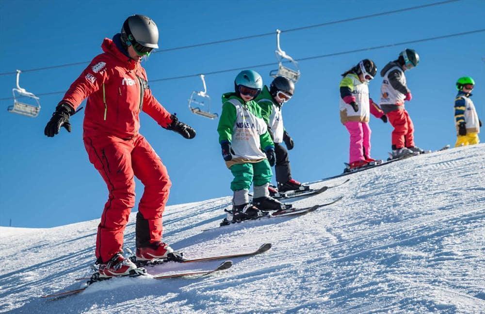"""Cours de ski Enfants """"Mini Kids"""" (3-5 ans) - Veysonnaz"""