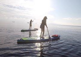 Cours de stand up paddle à Kamari (dès 12 ans) pour Dèbutants