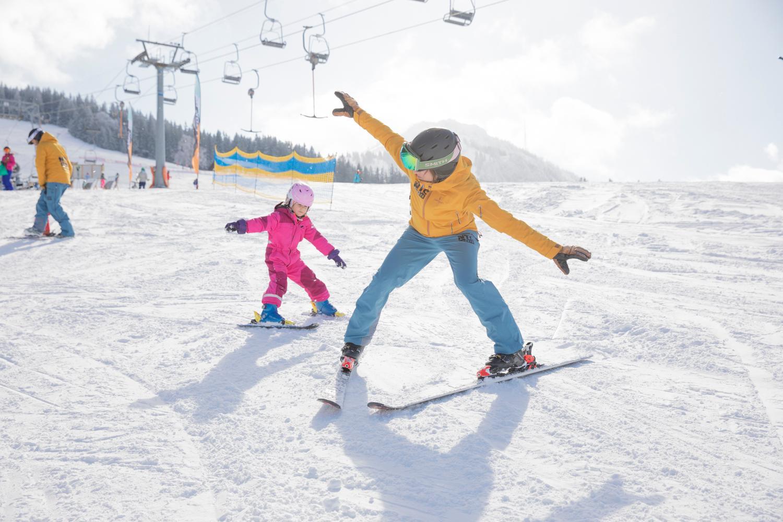 Privé skilessen voor kinderen vanaf 6 jaar - vergevorderd