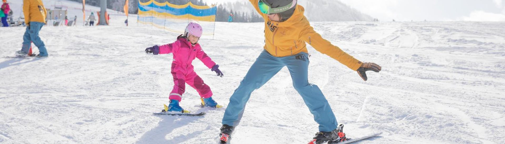 Private Ski Lesson for Kids for Advanced Skiers