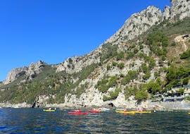 Sea Kayak Tour at Punta Campanella in Ieranto Bay