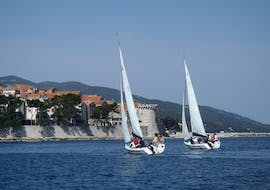 Half-day Sailing Yacht Trip from Korčula with Swimming