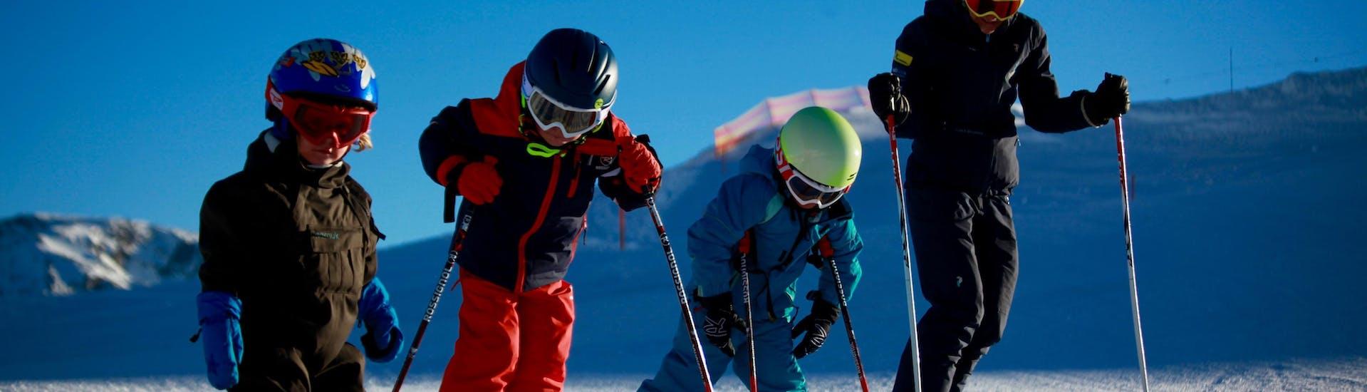 Cours particulier de ski Enfants pour Tous niveaux - Matin