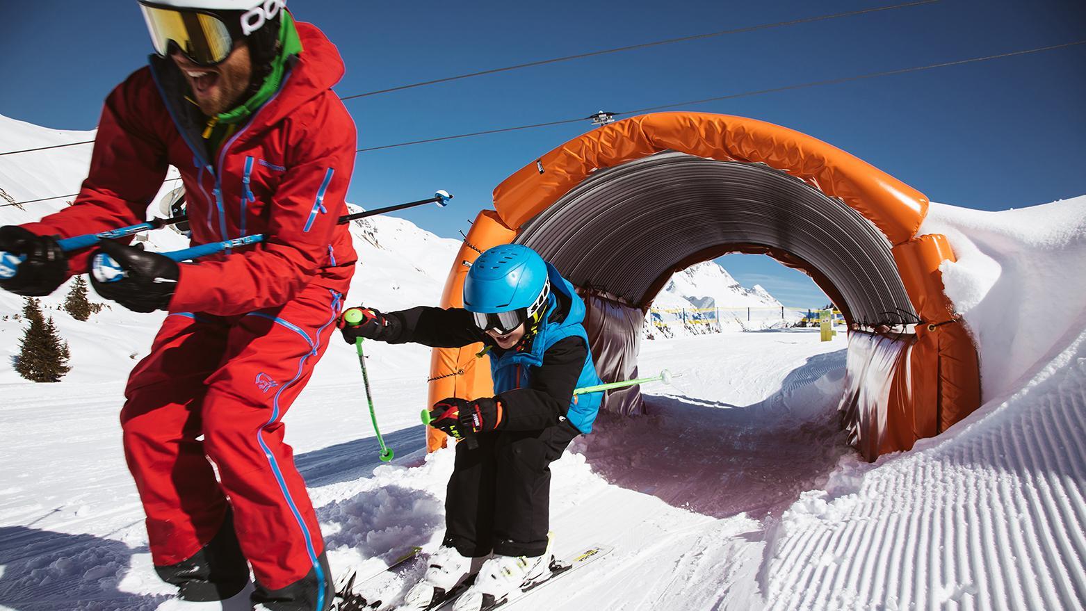 Cours particulier de ski pour Enfants - Avec expérience