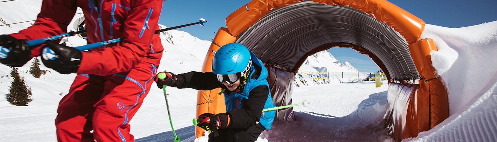 Ski Instructor Private for Kids in Lech