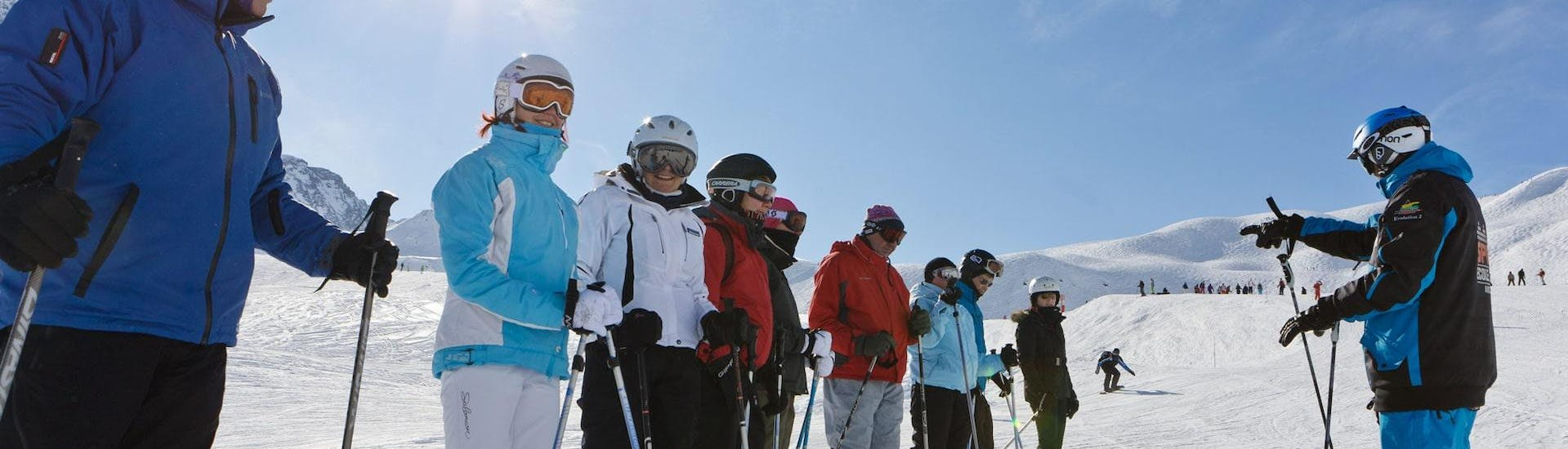 Adult Ski Lessons for All Levels - High Season - Arc 1950