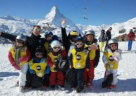 """Kids Ski Lessons """"Penguins"""" (3-5 y.) for All Levels"""