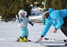 Clases de esquí para niños (3-4 años) - Vacaciones - Mañana