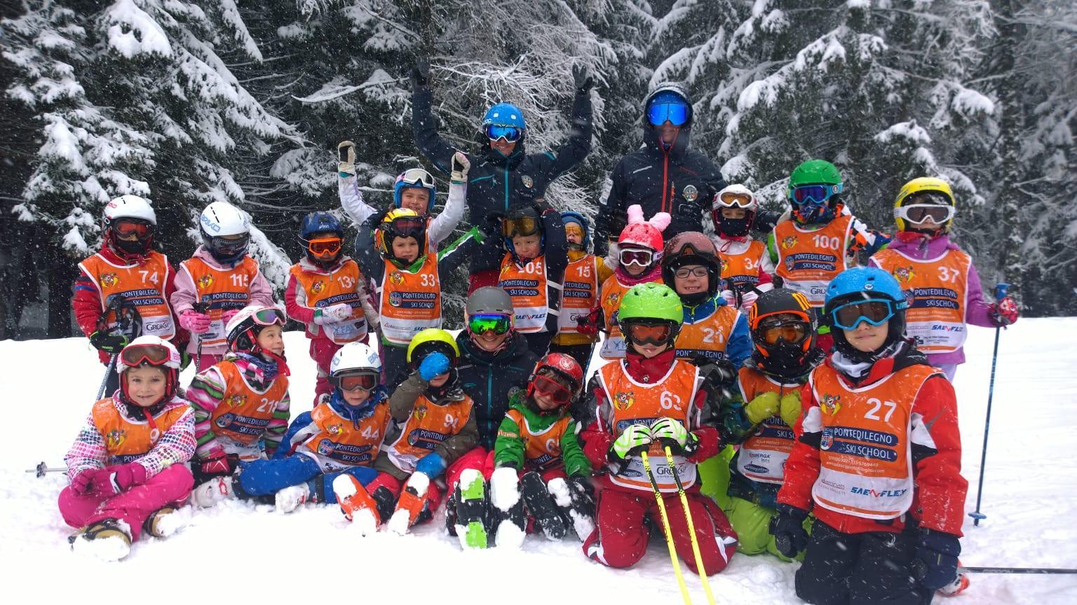 Lezioni di sci per bambini (4-13 anni) - Natale