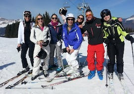 Private Ski Lessons for Adults - Morning - All Levels