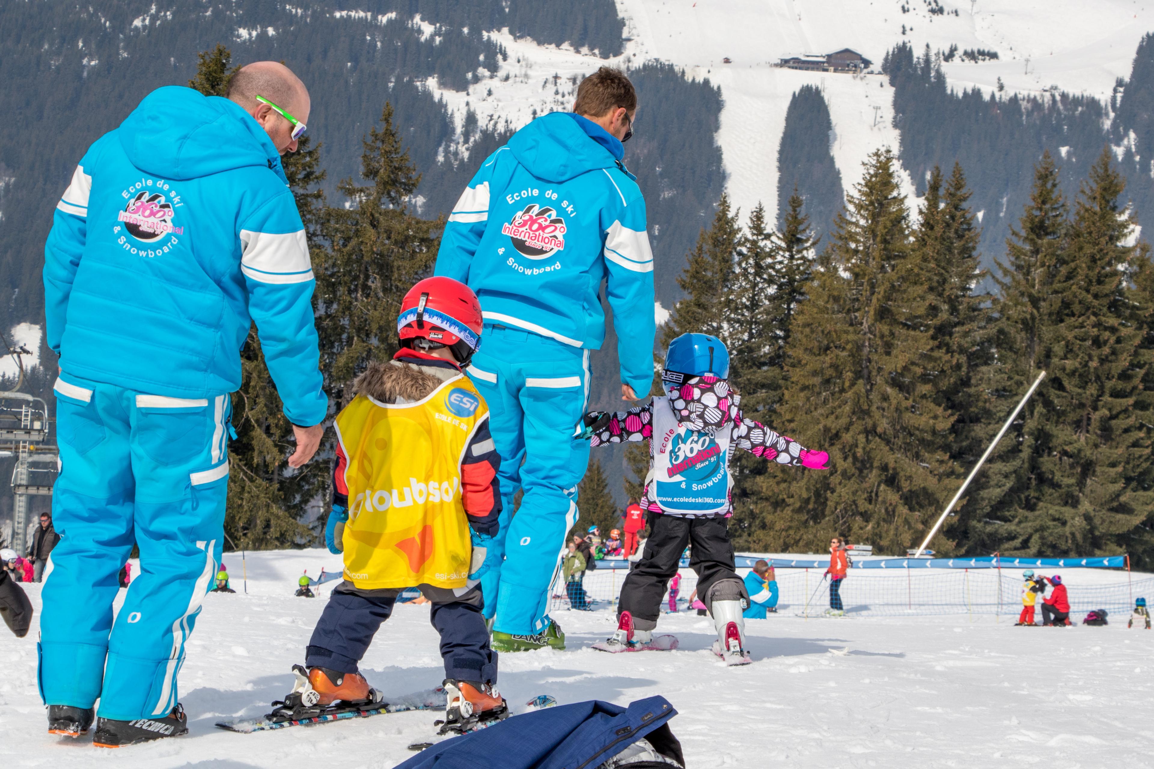 1er Cours de ski Enfants (4-8 ans) - Haute saison - A-midi