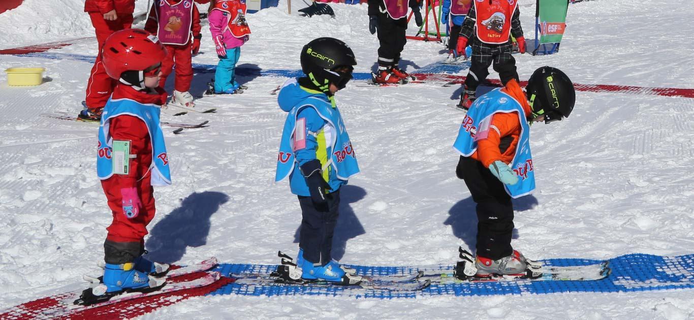 """Cours de ski Enfants """"Piou Piou"""" (3-5 a.) - Février - A-midi"""