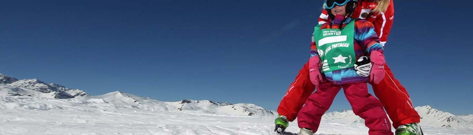 "Kids Ski Lessons ""Piou Piou"" (3-5 y.) - February - Afternoon"