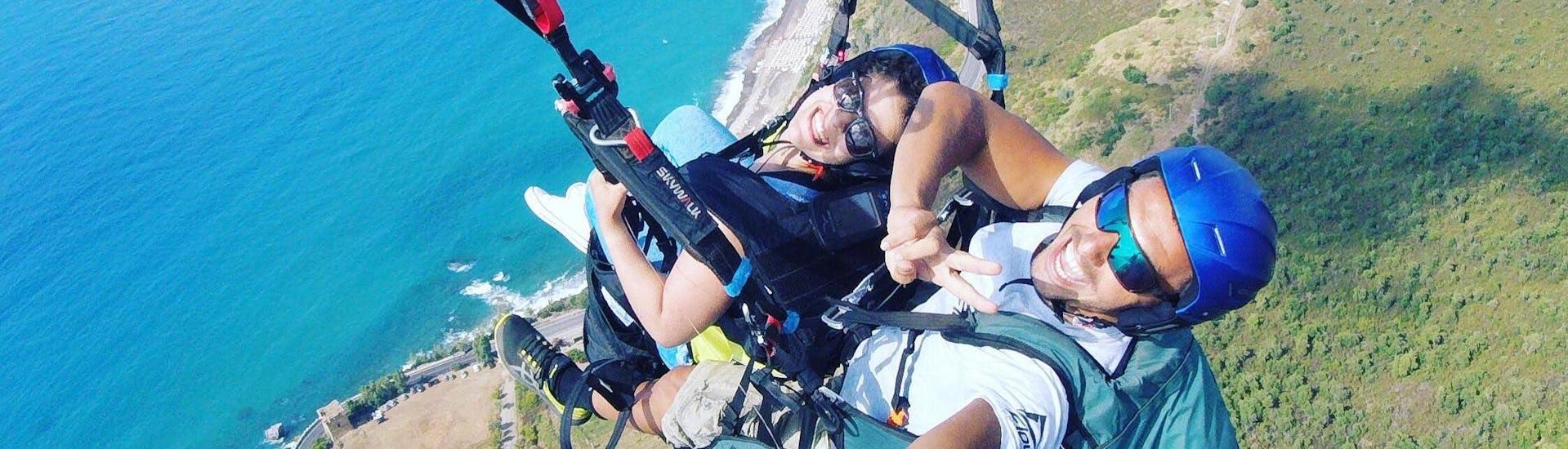 "Tandem Paragliding ""Classic""- Pollina"